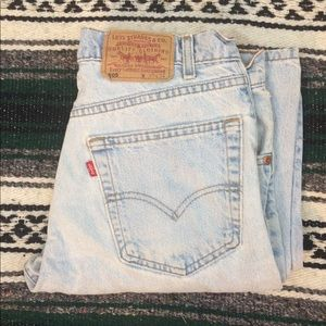 Vintage Levi's 505 Light Wash 90's Size 32 x 32